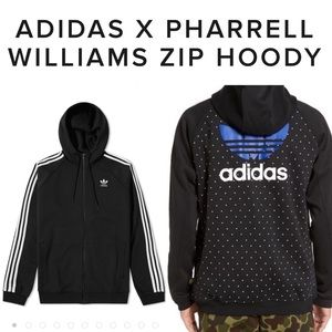 multiple colors excellent quality hot new products Adidas X Pharrell Williams HU Zip Hoodie XXL NWT